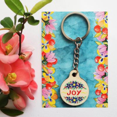 Breloc mesaj vesel