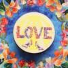 Brosa mesaj de iubire love