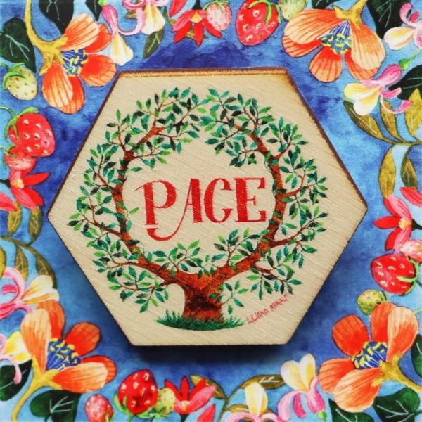 Brosa cu pomul vietii pace