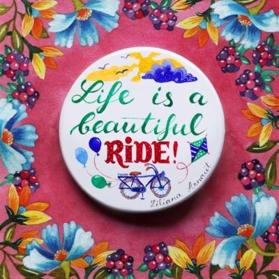 insigna cu bicicleta