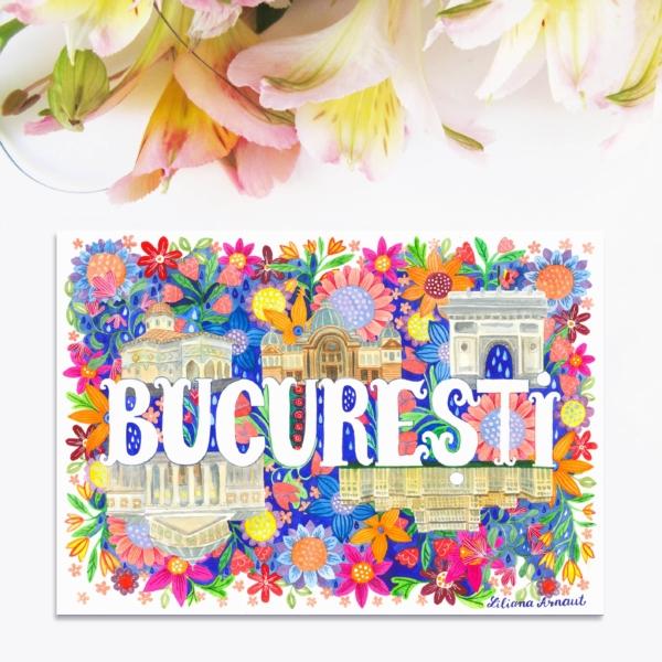 Magnet suvenir Bucuresti
