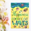 magnet frigider mesaj fericire