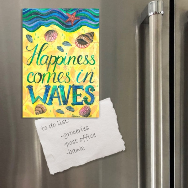 happiness magnet