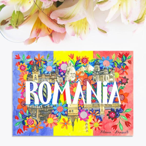 Magnet suvenir Romania