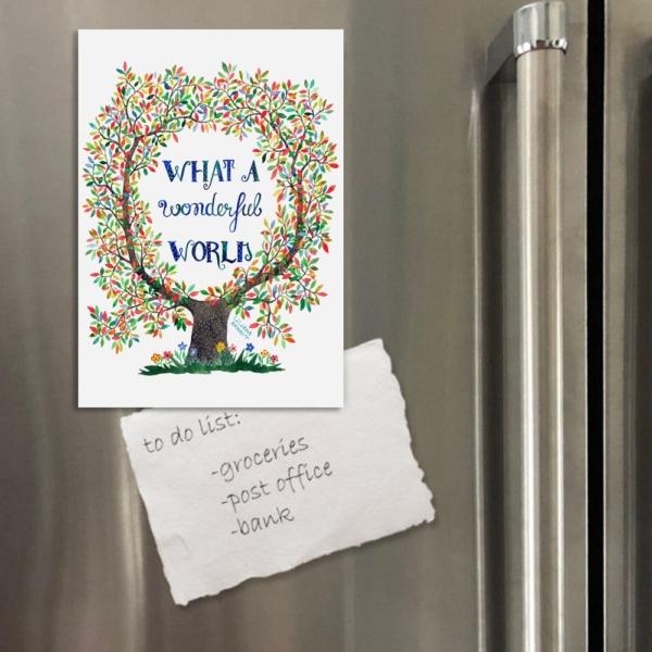 magnet cu mesaj pozitiv
