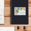 sticker colorat agenda