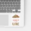 sticker colorat laptop