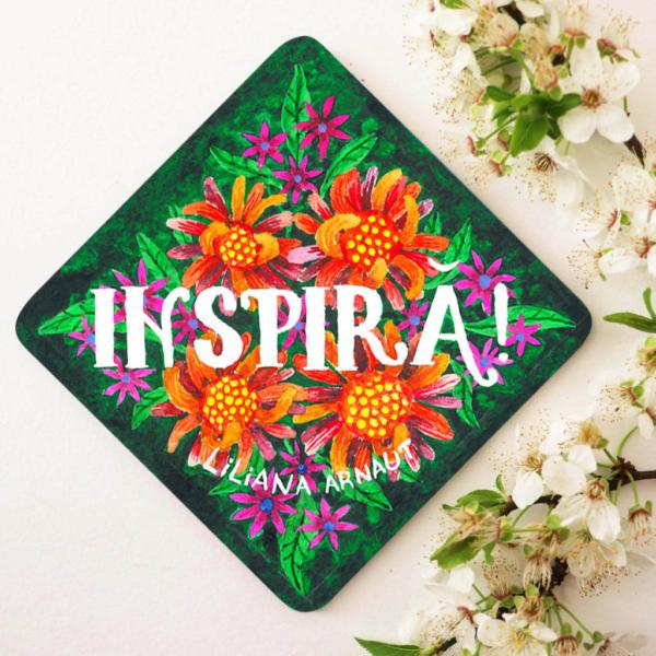 suport pahar inspirational
