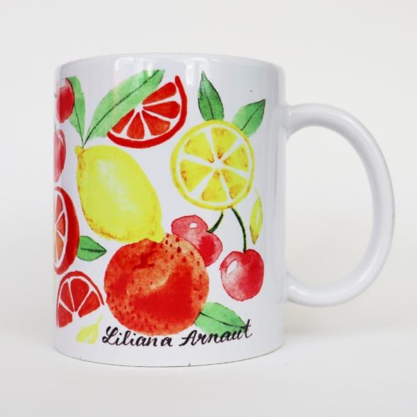 cana cu fructe colorate