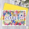 Felicitare suvenir Bucuresti