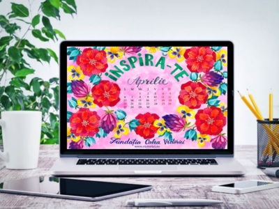 Gratuit calendarul lunii Aprilie 2020