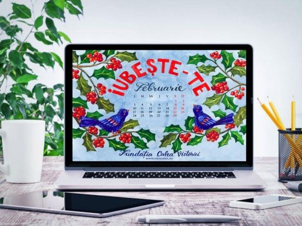 Gratuit calendarul lunii Februarie 2020