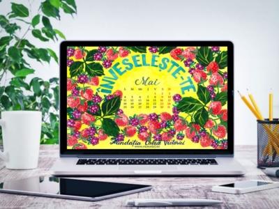 Gratuit calendarul lunii Mai