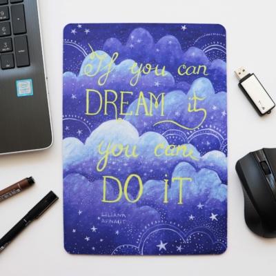 Mouse Pad mesaj inspirational