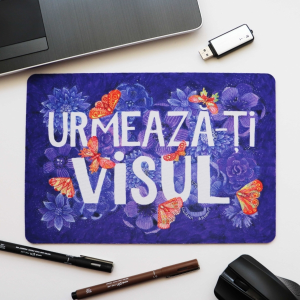 Mouse Pad mesaj motivational