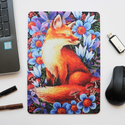 Mouse Pad cu Vulpe