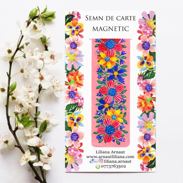 Semn magnetic de carte mesaj frumos