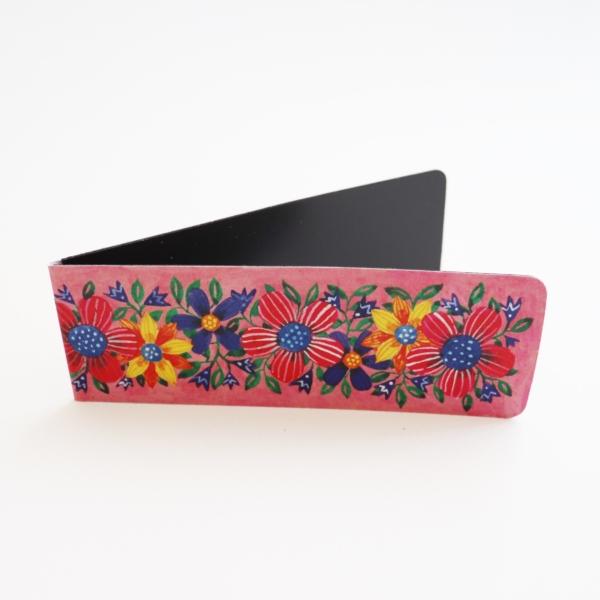 Semn de carte cu flori