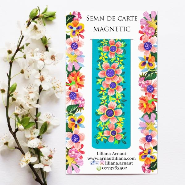 Semn de carte magnetic