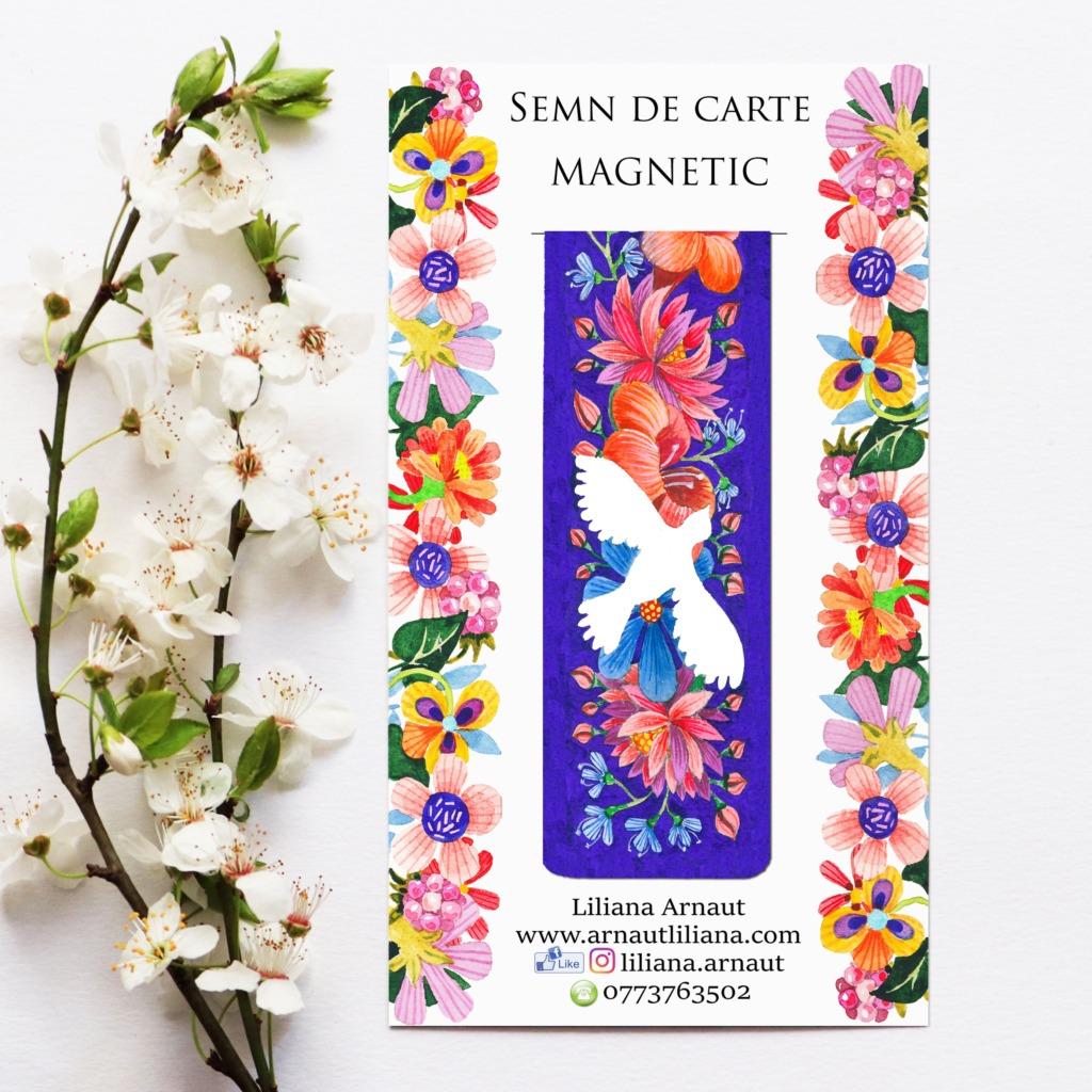 Semn magnetic de carte citate Parintele Arsenie Papacioc