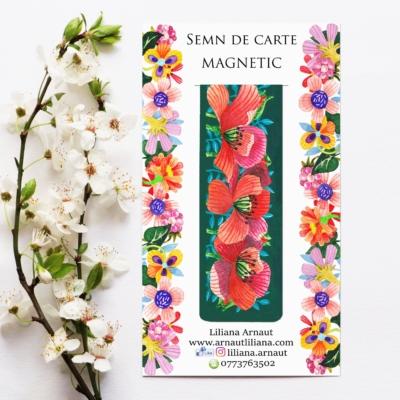 Semn magnetic de carte citat Preafericitul Augustin