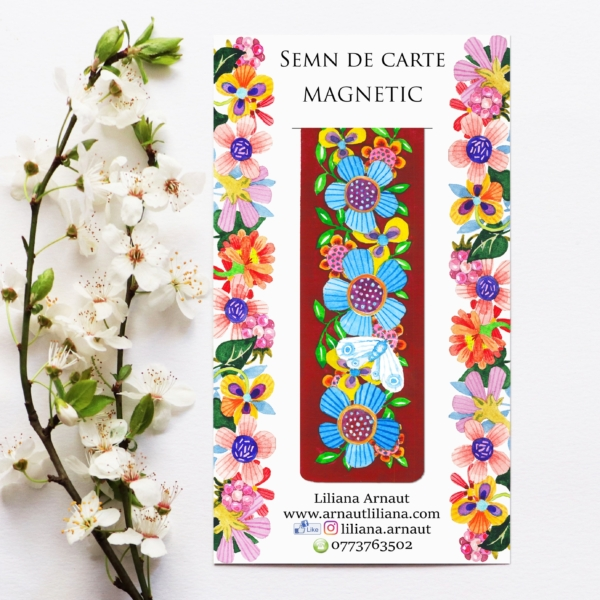 Semn de carte magnetic