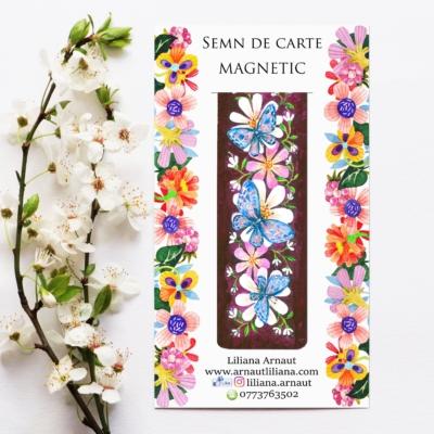 Semn de carte magnetic cu citat de Regina Maria