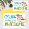 Felicitare citat biciclisti