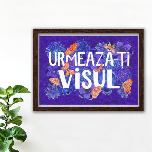 tablou colorat cu mesaj