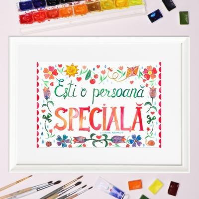 Tablou persoana speciala - Liliana Arnaut
