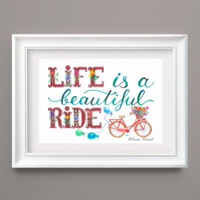 Tablou pentru biciclisti pasionati