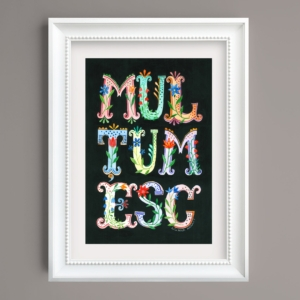 Tablou mesaj de Multumire