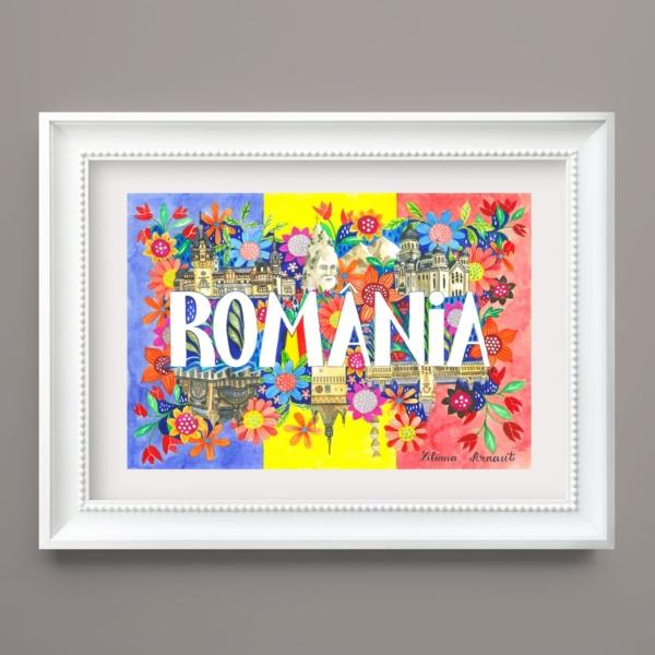 Tablou decorativ Romania