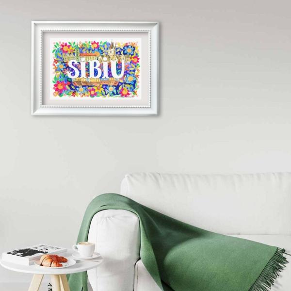 Tablou Sibiu