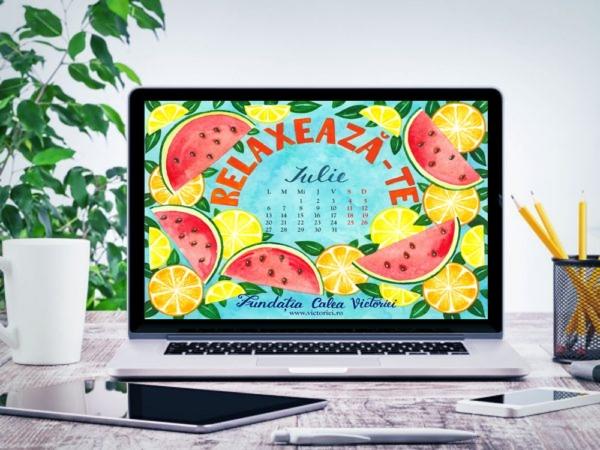 Descarca Gratuit Calendarul lunii Iulie 2020