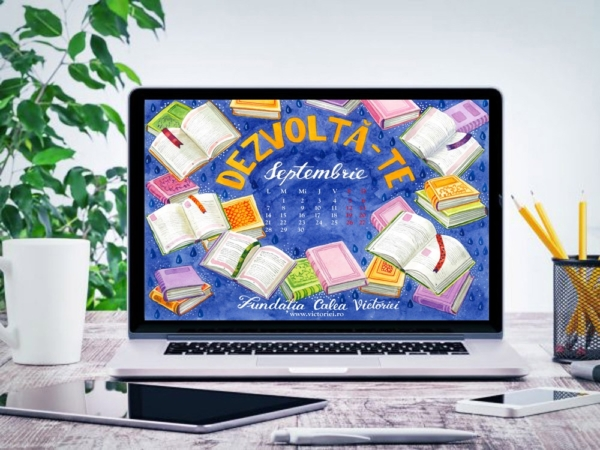 Descarca Gratuit calendarul lunii Septembrie 2020 de Liliana Arnaut