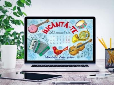 Liliana Arnaut - Calendar Gratuit descktop Decembrie 2020