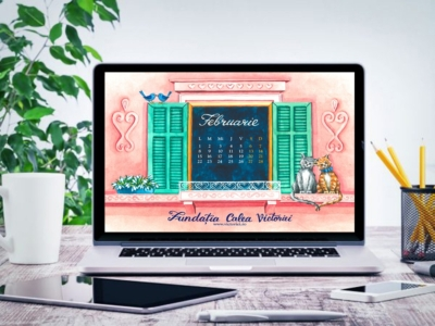 Liliana Arnaut - Calendar gratuit Februarie desktop