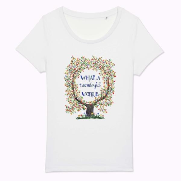 tricou mesaj optimist