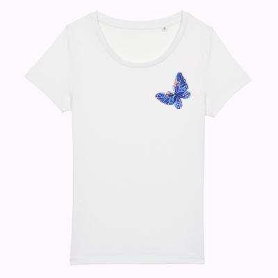 Tricou cu fluture